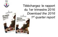 Téléchargez le rapport du 1er trimestre 2016 / Download the 2016 1st Quarter Report